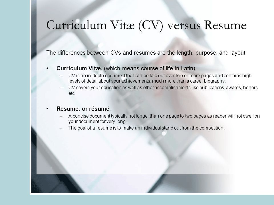 Creating an Effective Resume & Cover Letter. Overview Purpose of a ...