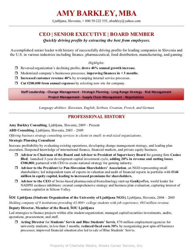 Resume With Salary Requirement Example | Free Resume Templates