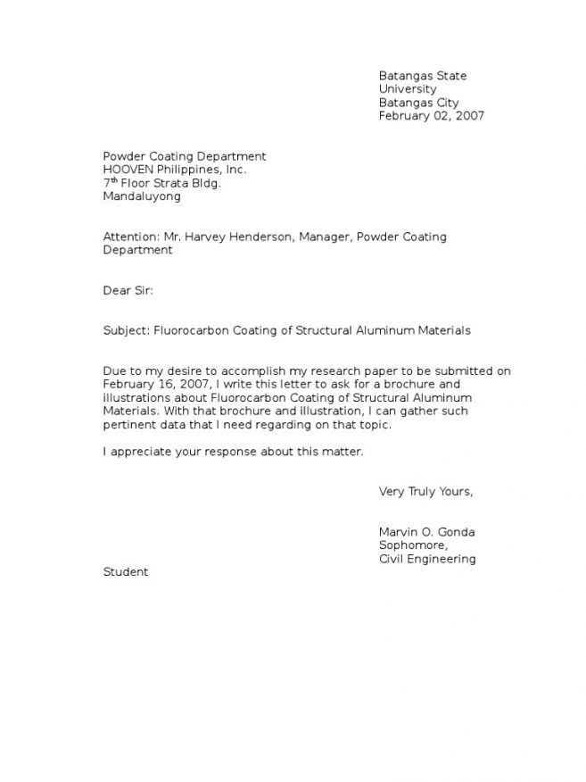 Letter Of Inquiry. Sales Inquiry Letter Amazing Format Of Enquiry ...