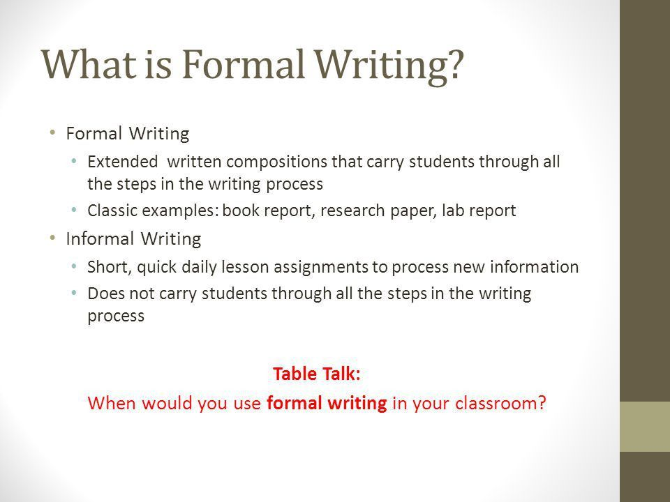 The Formal Writing Process Differentiated Lit Session. - ppt download