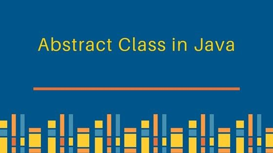 Abstract Class in Java - JournalDev