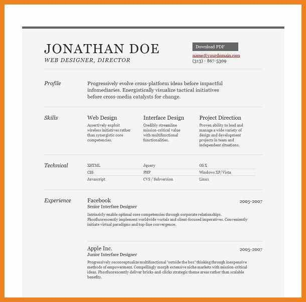 Awesome Top 10 Resume Formats | Teller Resume Sample