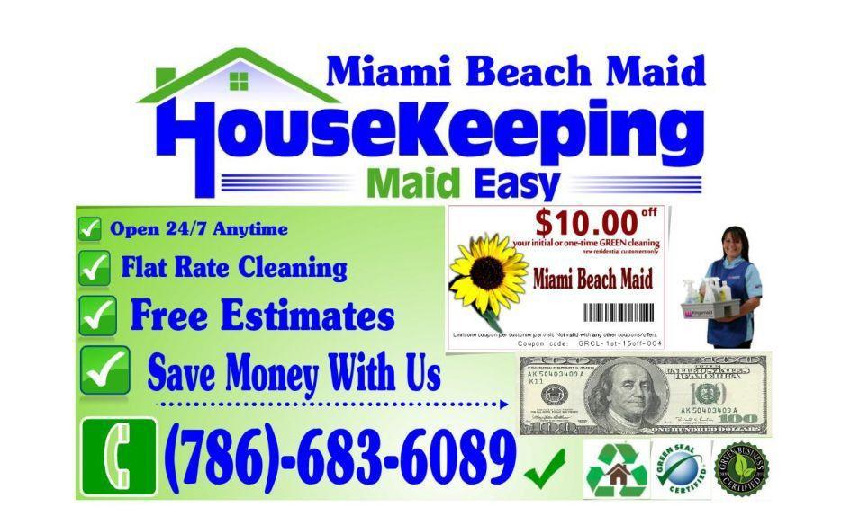 Miami Beach Maid General Cleaning Services -- Miami Beach Maid ...