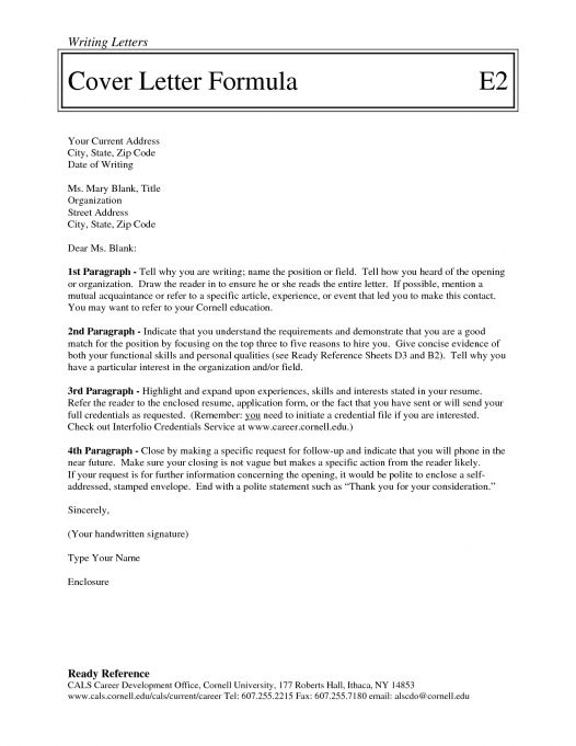 Addressing A Cover Letter To Unknown - My Document Blog