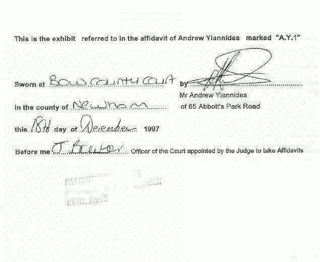 The Facts On Affidavit