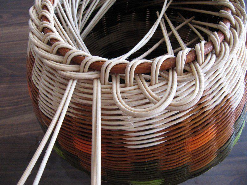 Плетение бумажными трубками