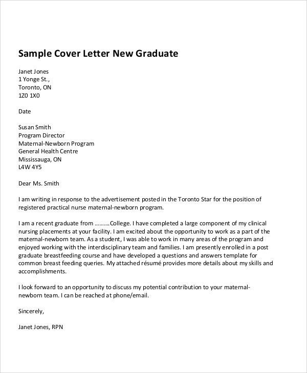 8+ First Job Cover Letters - Free Sample, Example Format Download ...