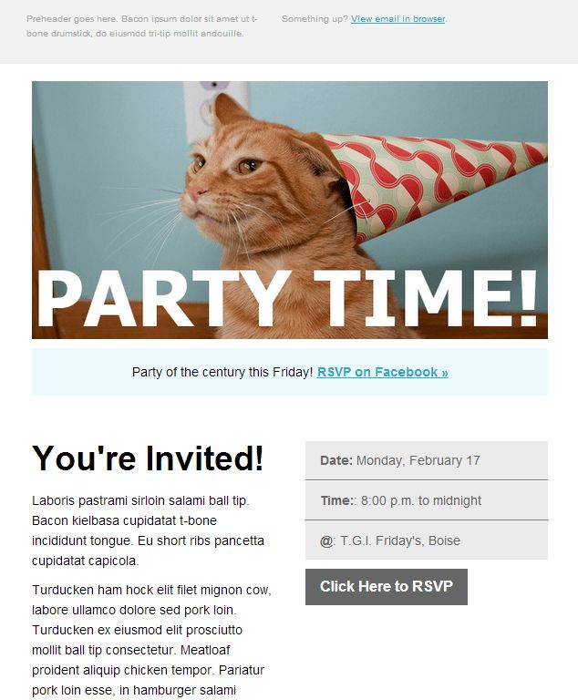 Event Invite Template | Best Template Collection