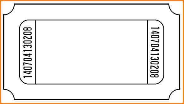 7+ admit one ticket template | wedding spreadsheet