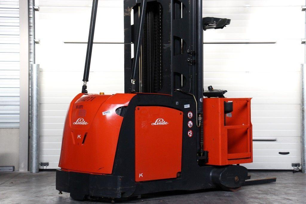 Used fork lift trucks: BS Forklifts International B.V.   Order Picker