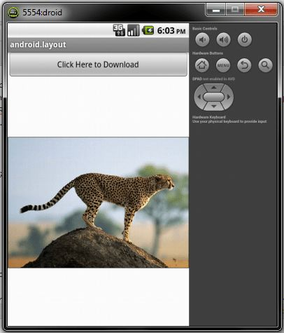 Download Image using AsyncTask in Android | StackTips
