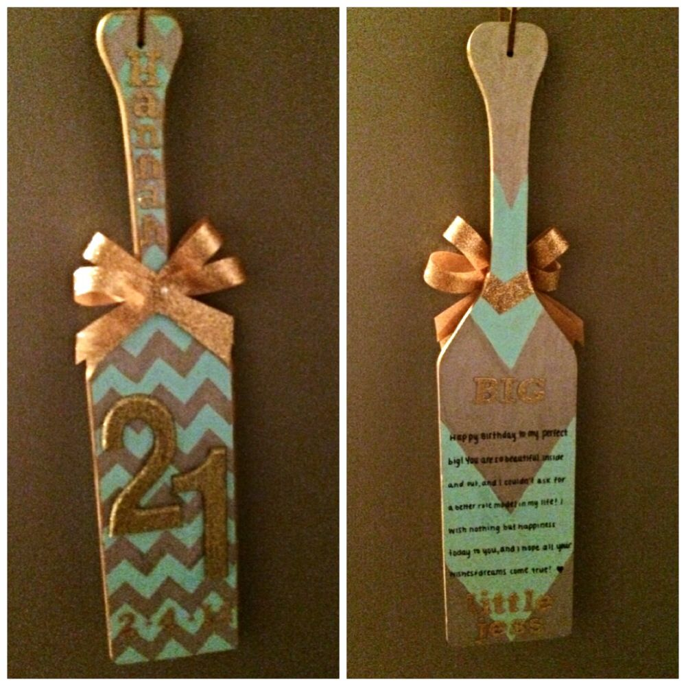 Bids and bigs sorority craft ideas for Sorority crafts for little
