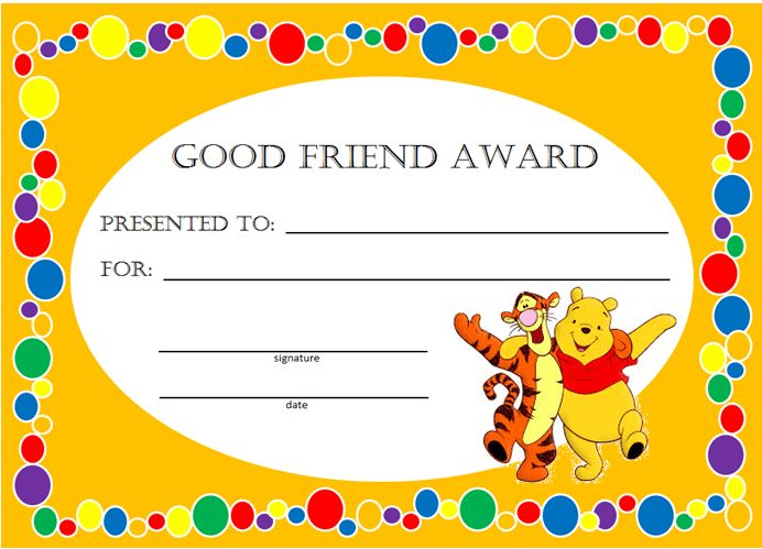 Kids Awards and Certificates