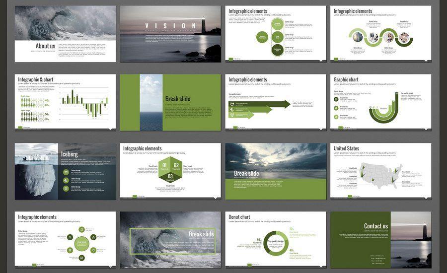 professional slide presentation template 60 beautiful premium ...