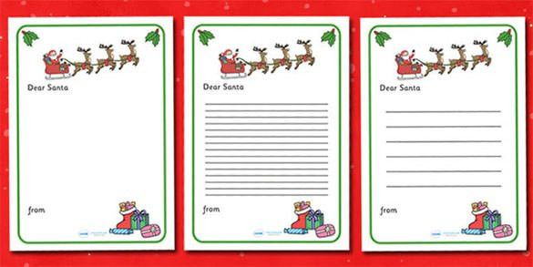 35+ Christmas Letter Templates – Free PSD, EPS, PDF Format ...