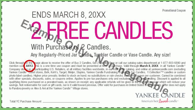 Yankee Candle Coupons & Special Offers | Yankee Candle