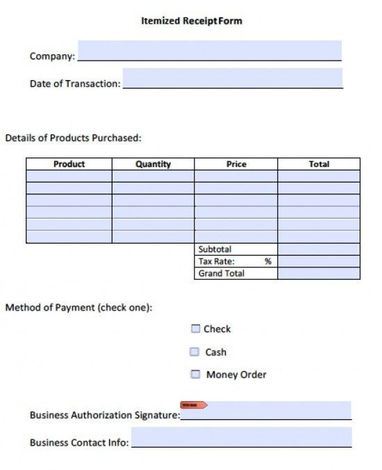 Free Itemized Invoice Template | Excel | PDF | Word (.doc)