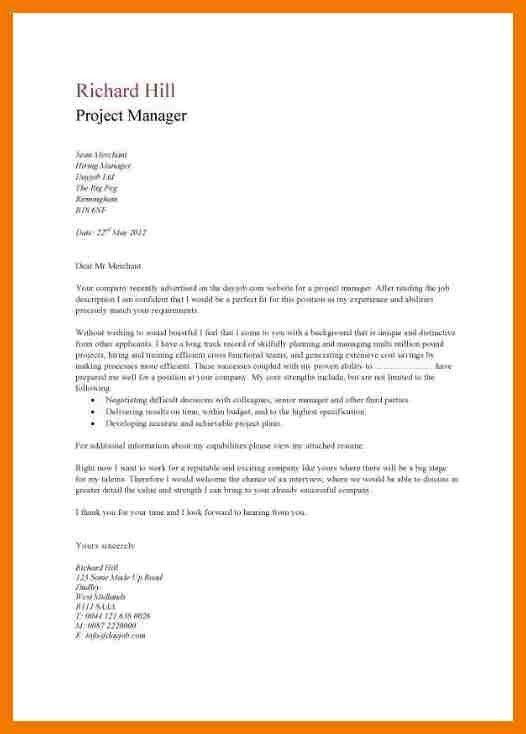 Basic Cover Letter Template - cv01.billybullock.us