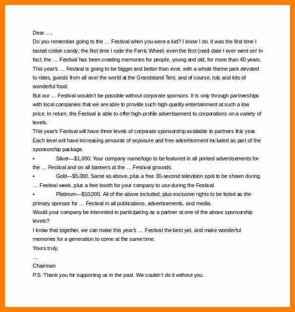 6+ entertainment company sponsorship proposal letter | buyer resume