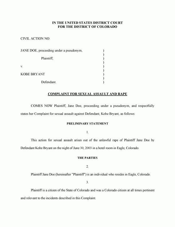 Civil Summons Form] Summonsresponsecom Blog Civil Court Summons ...