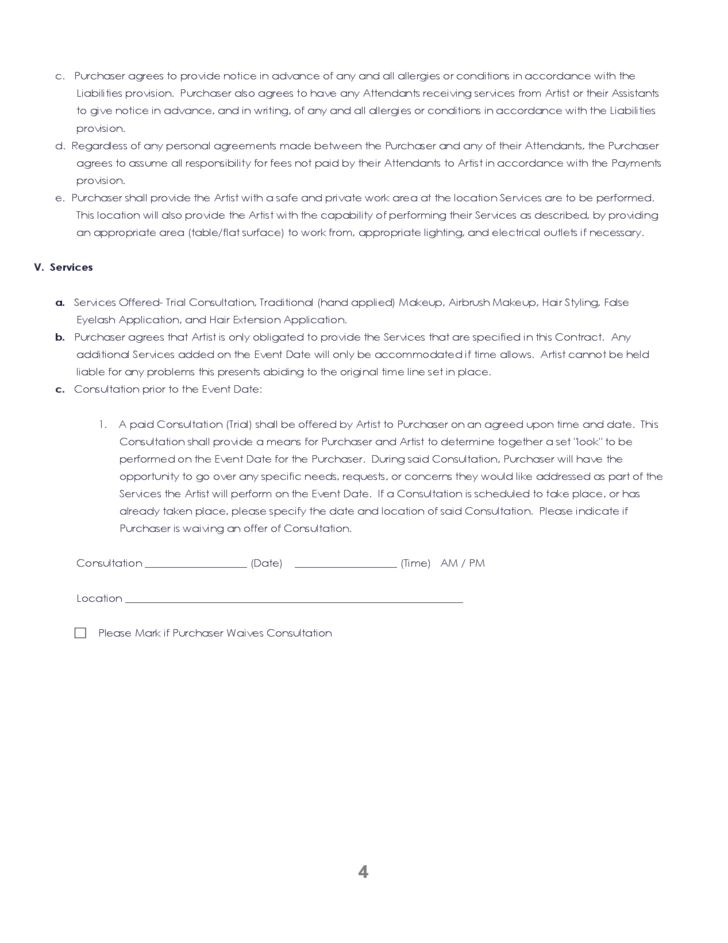 Nice Blank Agreement Form Template Example for Contract : Thogati