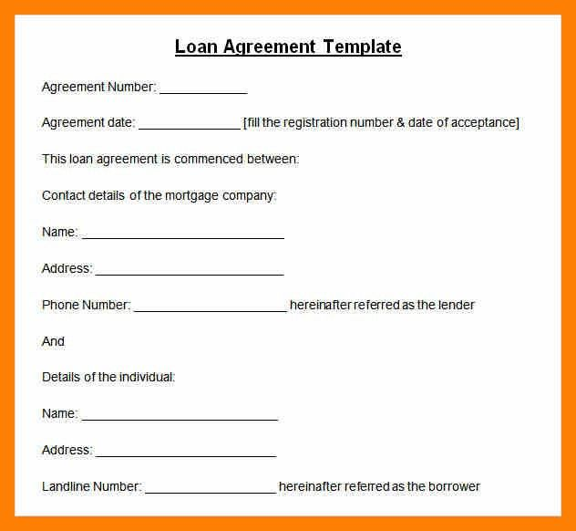 Subordination Agreement Template. 8 Letter Of Agreement Sample For ...