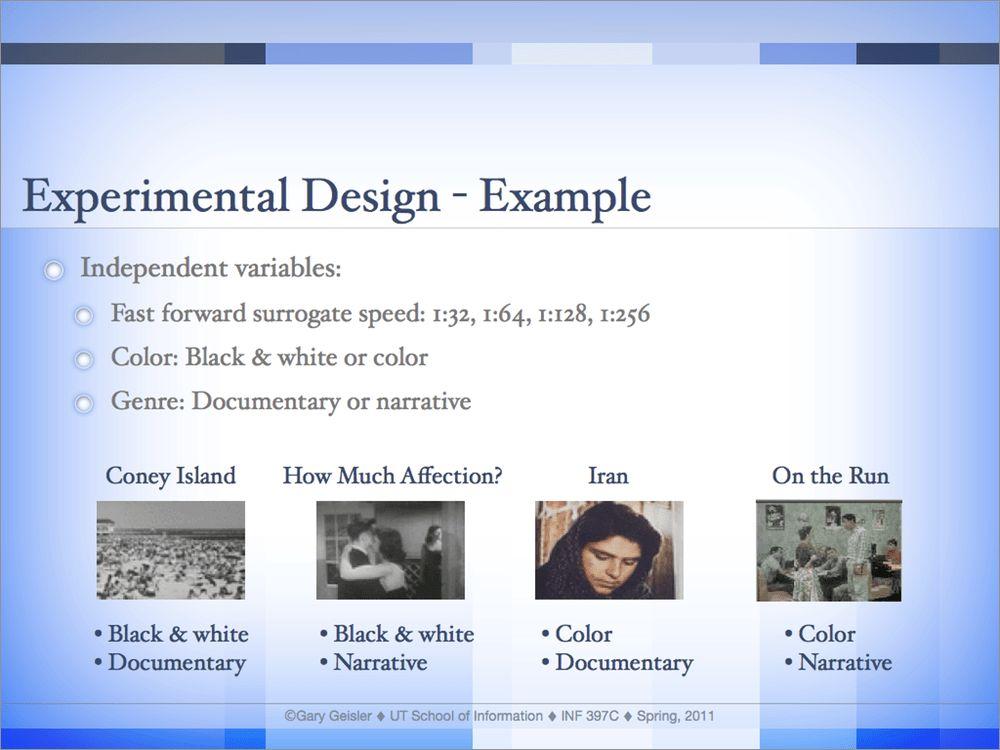 Gary Geisler ∴ User Research Portfolio ∴ Methods Example: Lab Study