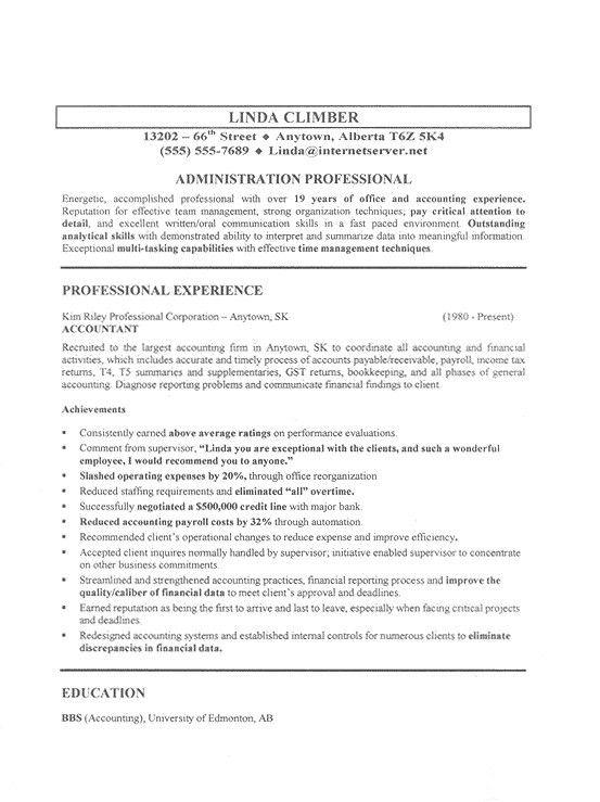 Sample Targeted Resume | jennywashere.com