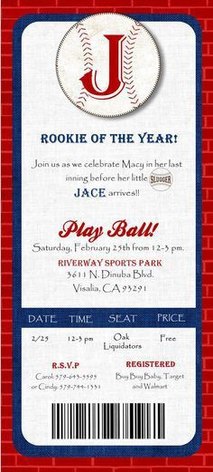 Baseball Invitation Template – orderecigsjuice.info