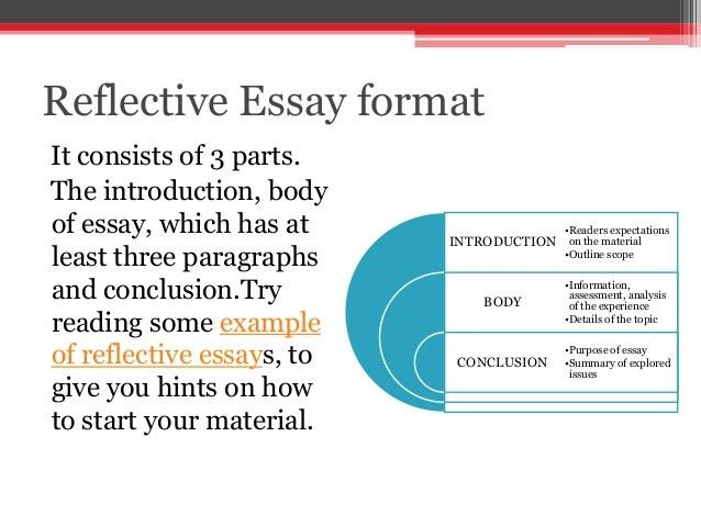 Useful tips on reflective essay writing