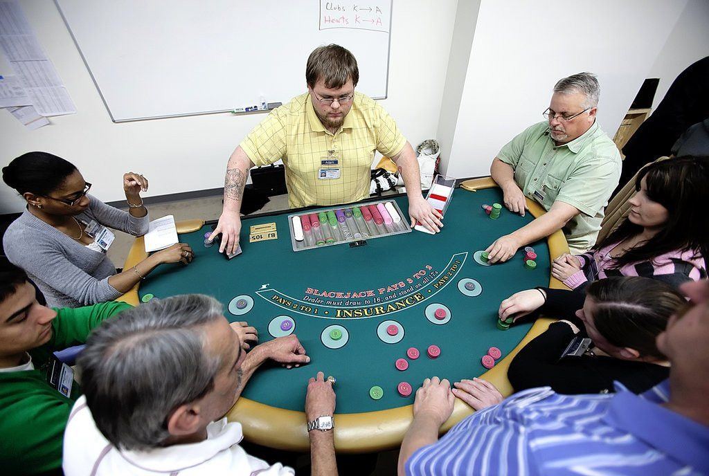Playing with house money: 300 would-be dealers train to operate ...