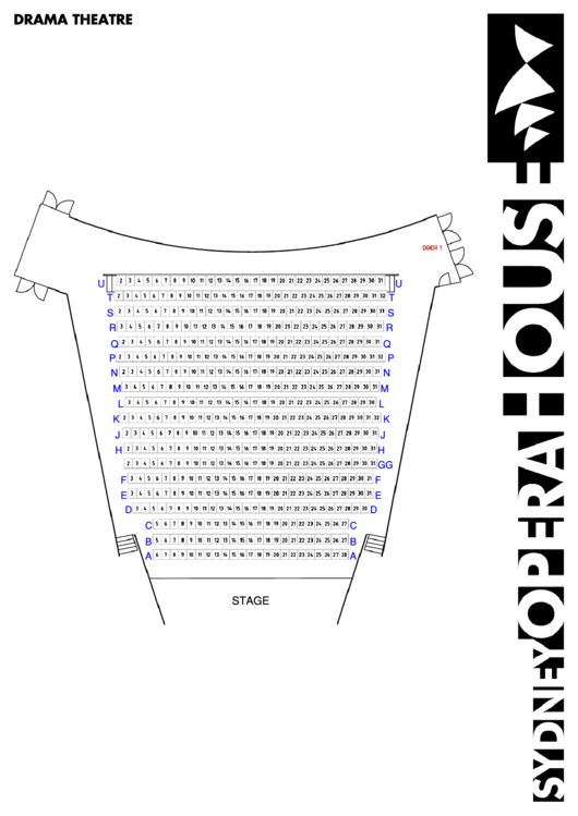 Theater Seating Chart Template. cadillac palace theatre seating ...