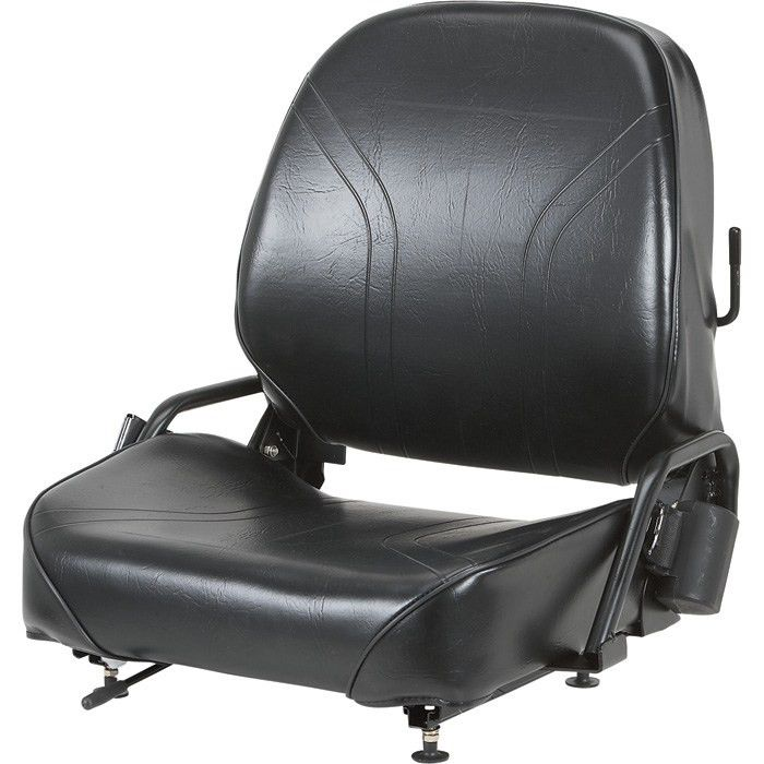 Wise Universal Forklift Seat — Black, Model# WM1077 | Forklift ...