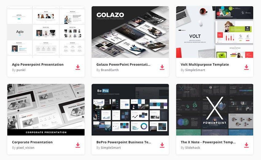 17+ Best PowerPoint Template Designs for 2017