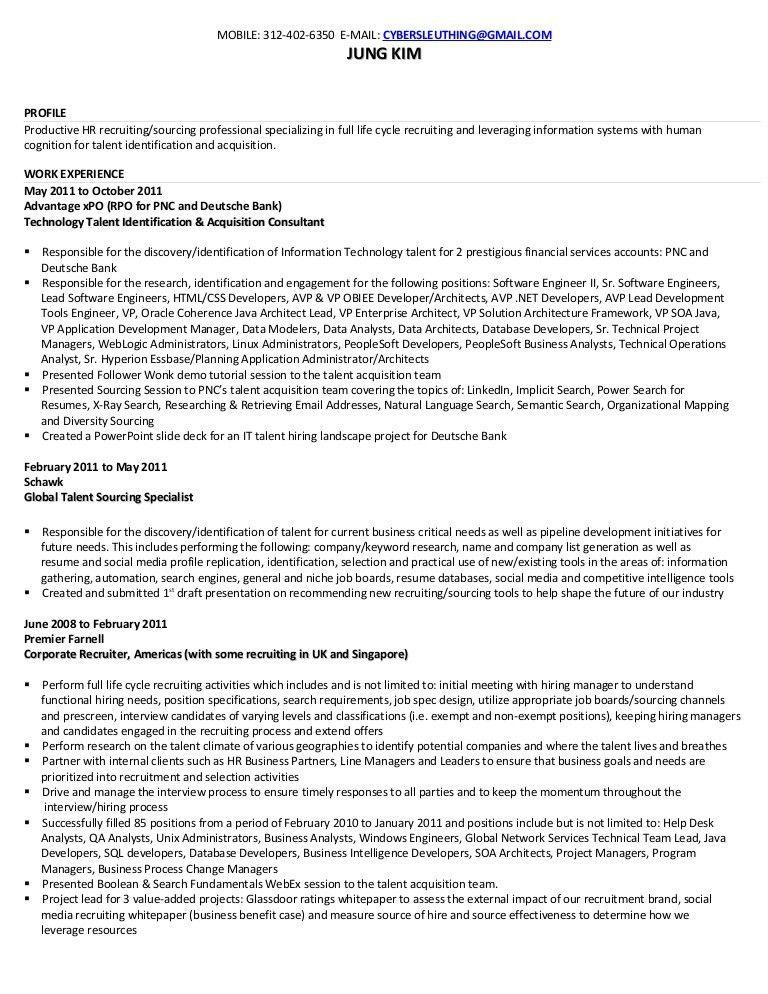 My resume: Technology Recruiter | Technology Sourcer | Talent Identif…