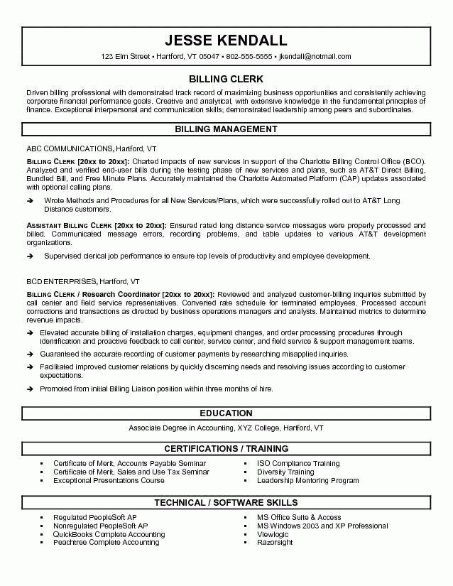 sample clerical resume stock clerk resume examples vosvete ...