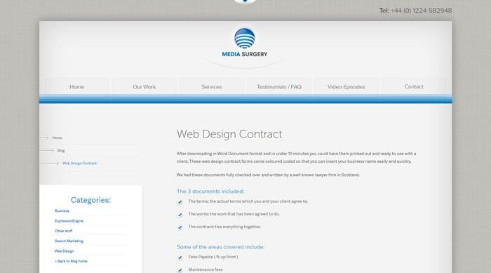 How To Have A Good Design Contract With Your Clients