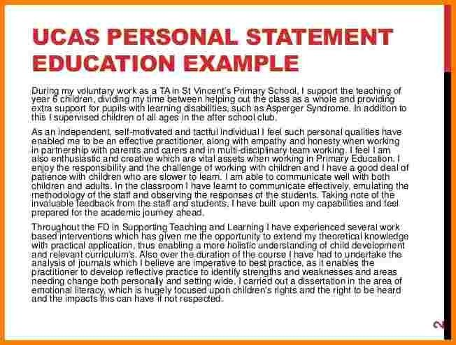 personal statement examples ucas - Template