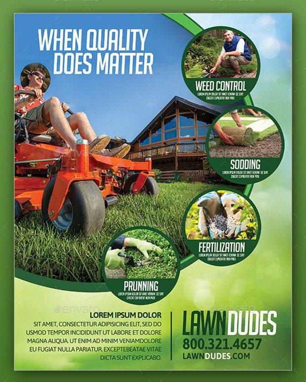 18+ Landscaping Flyer Templates - Printable PSD, AI, Vector EPS ...