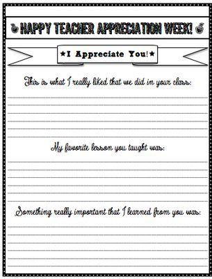 124 best Teacher Appreciation images on Pinterest   Page borders ...