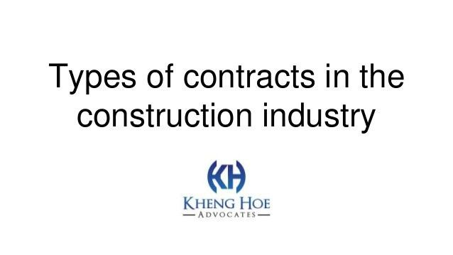 Construction Contract Agreement Types | Create professional ...