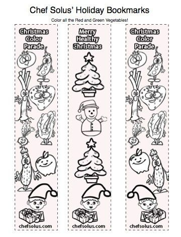 Holiday Bookmarks for Kids- Free Coloring Pages Printouts | Flickr