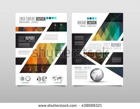 Brochure Design Brochure Template Creative Trifold Stock Vector ...
