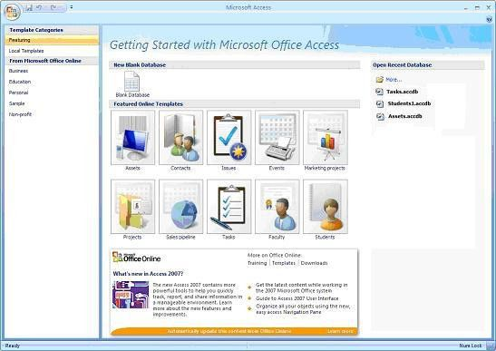 Discover the power of Microsoft Access Template Databases