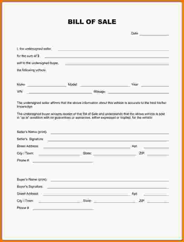 Bill Of Sale Template Pdf.Vehicle Bill Of Sale Template PDF.jpg ...