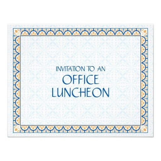 Invitation Wording For Employees