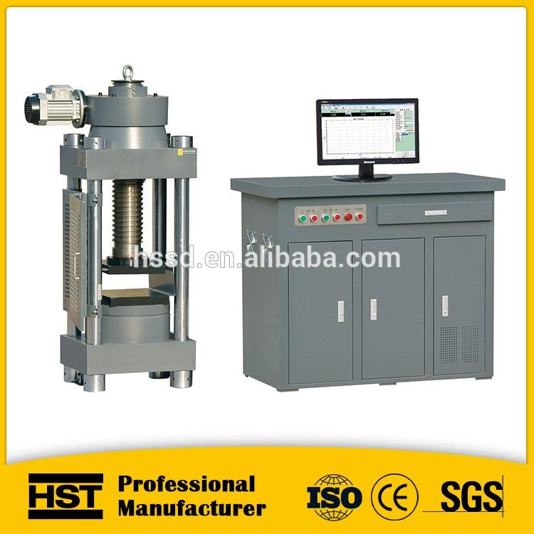320mm Test Space Concrete Cube Compression Testing Machine ...