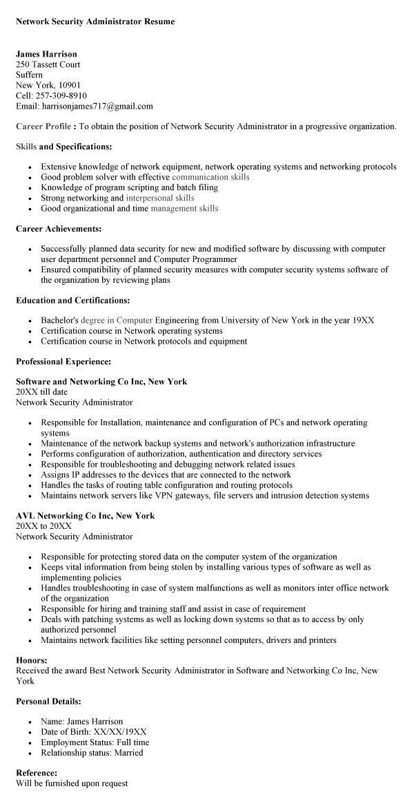 information technology it resume sample 16 fields related to ...