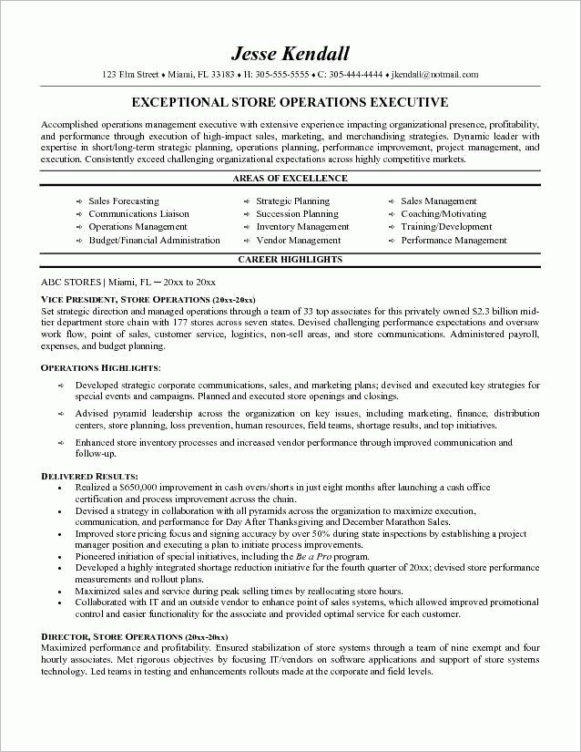 Retail Manager Resume Examples Manager Retail Resume Manager for ...
