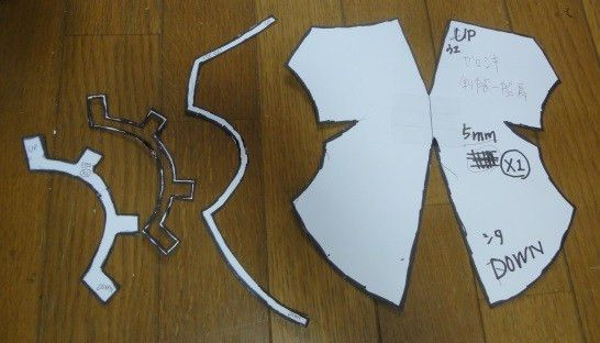 How to make Shoulder armor (with templates) in Final Fantasy Type ...